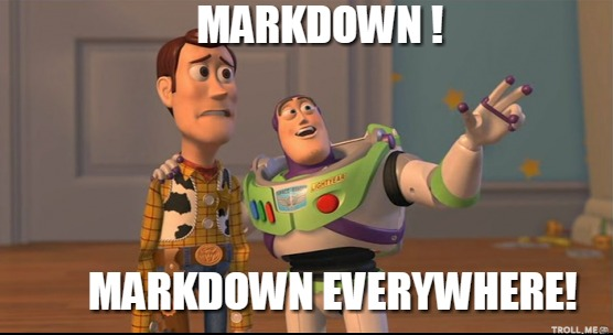 New package commonmark: yet another markdown parser?
